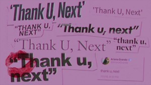 thank u, next – Ariana Grande